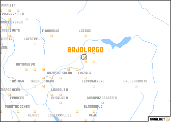 map of Bajo Largo