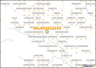 map of Bajos de Güera