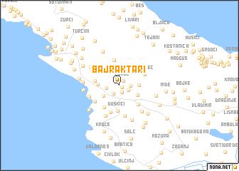 map of Bajraktari