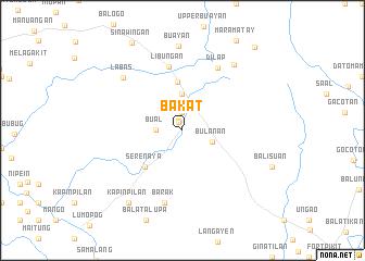 map of Bakat