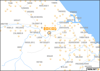 map of Bakiad