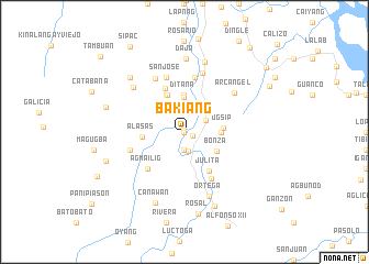 map of Bakiang