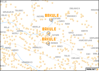 map of Bakule