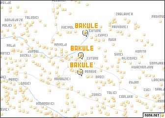 map of Bakule