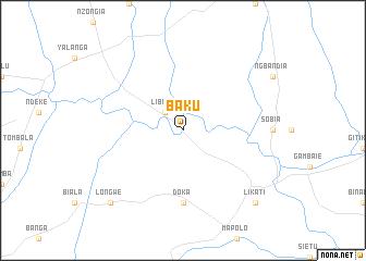 map of Baku