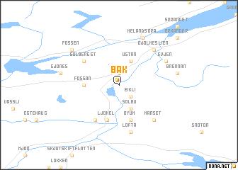 map of Bak