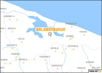 map of Balabanburun