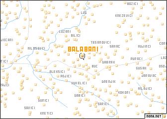 map of Balabani