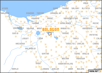 map of Balagan
