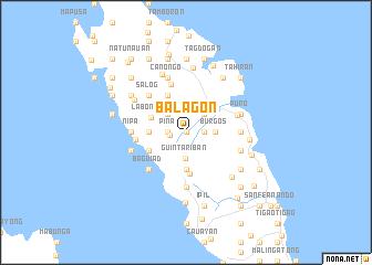 map of Balagon