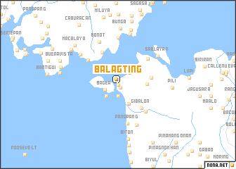 map of Balagting
