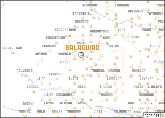 map of Balaguiao