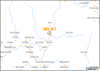 map of Balait