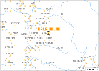 map of Balakinunu