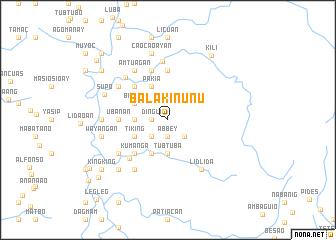 map of Balakinunu
