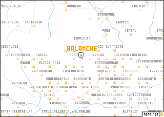map of Balamché