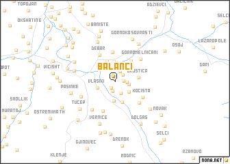 map of Balanci