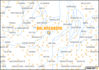 map of Balangobong