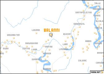 map of Balanni