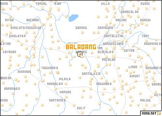 map of Balaoang