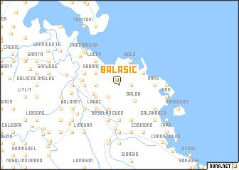 map of Balasic