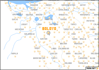 map of Balaya