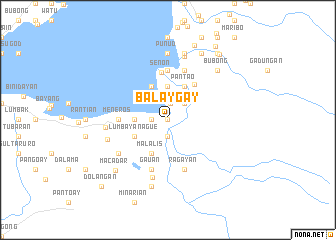 map of Balaygay