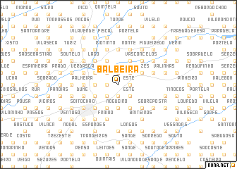 map of Balbeira