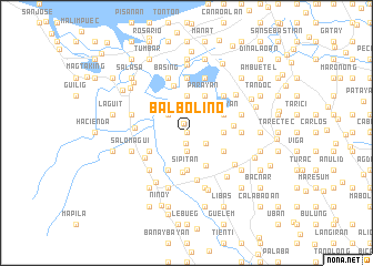 map of Balbolino