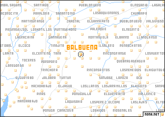 map of Balbuena