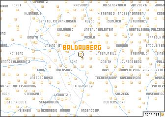 map of Baldauberg