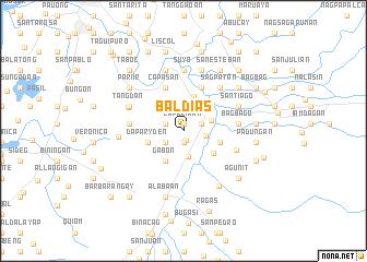 map of Baldias