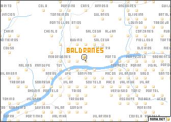 map of Baldranes