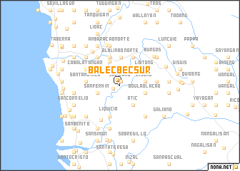 map of Balecbec Sur