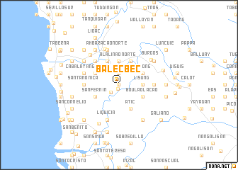 map of Balecbec