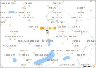 map of Balewko