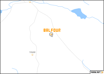 map of Balfour