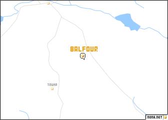 map of Balfour