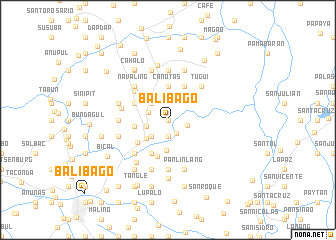 map of Balibago