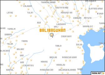 map of Balibaguhan