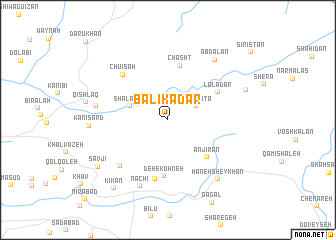 map of Bālīkadar