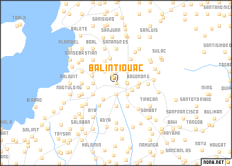 map of Balintiouac