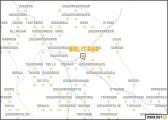 map of Balitawa