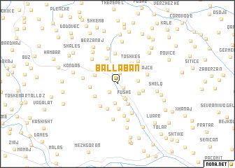map of Ballaban