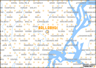 map of Ballabhdi
