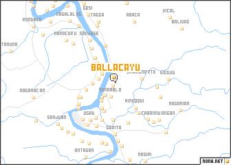 map of Ballacayu
