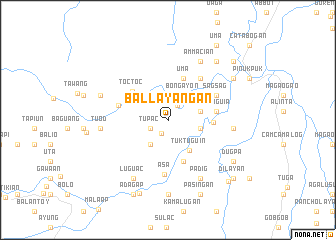 map of Ballayañgan