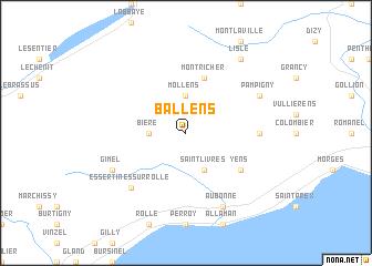 map of Ballens