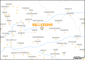 map of Ballessama