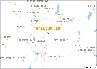 map of Ballouville